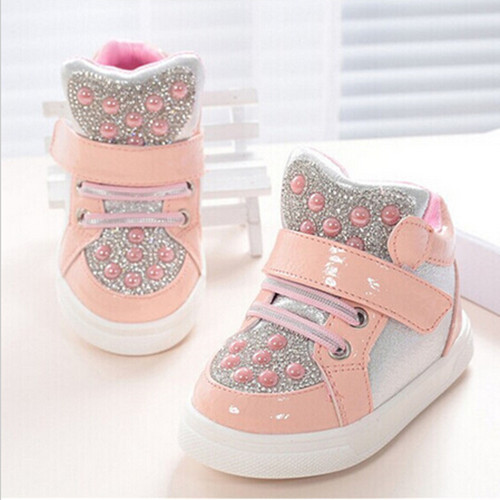 2016-осень-новинка-дети-детская-обувь-девочек-и-мальчиков-спортивная-обувь-детская-обувь-горный-хрусталь-блестки