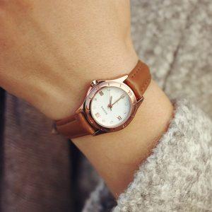 New-Watch-Women-Vintage-Genuine-Leather-Strap-Small-dial-Watches-Sport-Quartz-font-b-Ladies-b