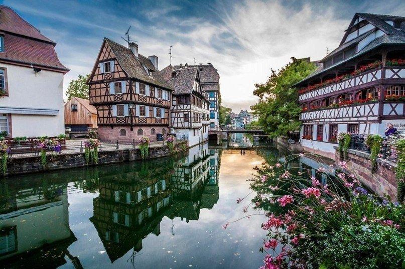 Strasbourg-Страсбург-весняний