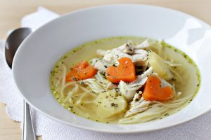 simple-chicken-soup-with-carrot-hearts
