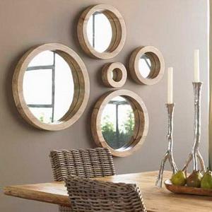 mirrors in the interior