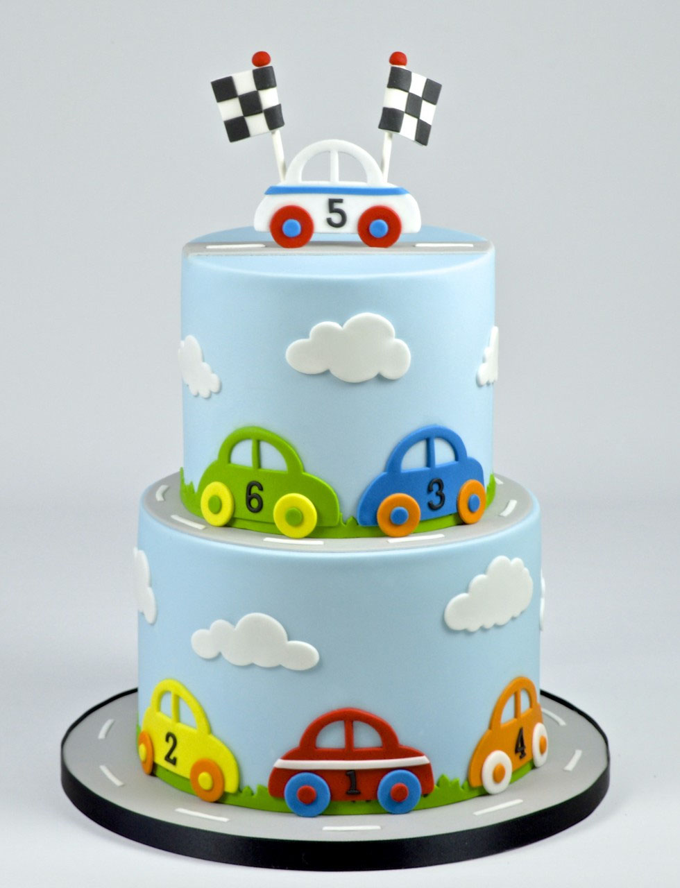 fmm-sugarcraft-car-cake