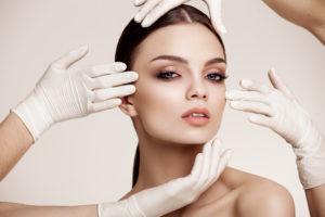 Beautiful Woman before Plastic Surgery Operation Cosmetology. Beauty Face