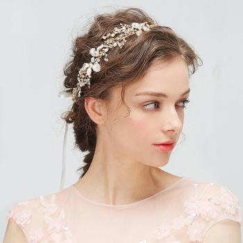 Свадебная-диадема-повязка-на-голову-Серебряного-и-золотого-цветов-тиара-на-голову-с-жемчугом-стразы-головной.jpg_350x350
